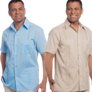Basic Guayabera Fitting Detail
