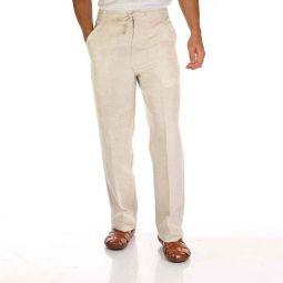 Mens pants, linen pants.