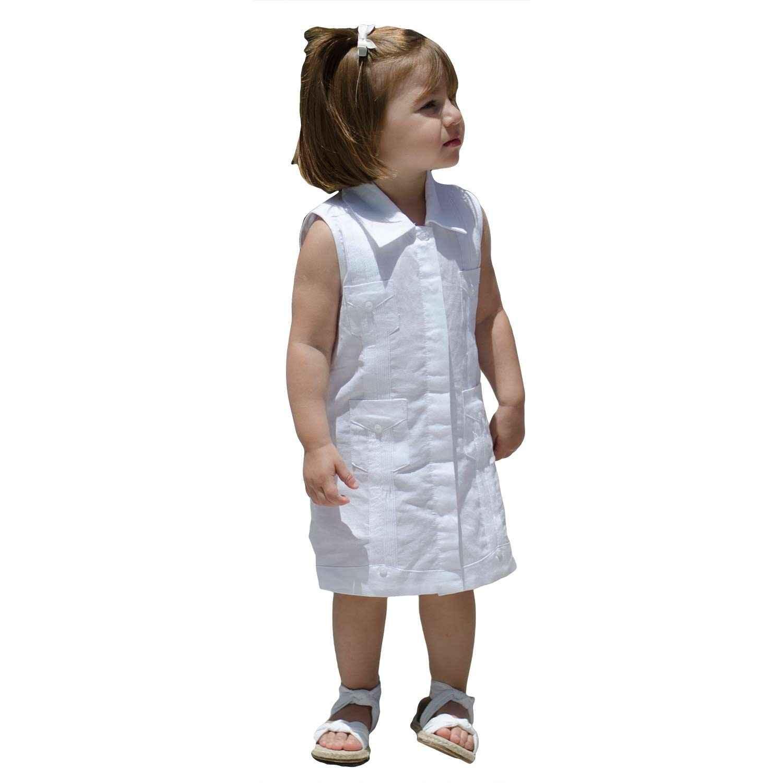 57a47c71 Sleeveless Guayabera Dress   On sale today!, Ships free on $40