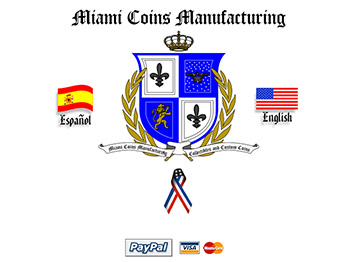 2000's - Miami Coins Manufacturing - Website