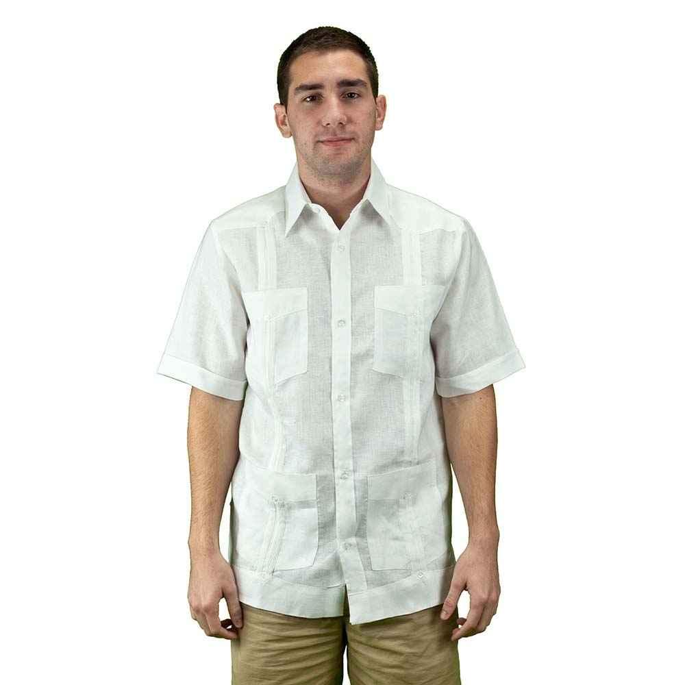 Mycubanstore Men 39 S Linen Guayabera Shirt