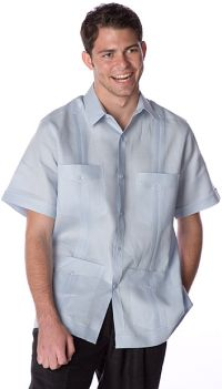 Short Sleeve Guayabera Shirt